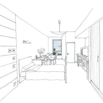Disposition des meubles dans une chambre photos de for Disposition des meubles dans une chambre